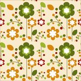 Seamless Springtime Flowers Bloom -2 Royalty Free Stock Images
