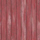 Seamless sprucken Wood vägg för gammal skalning Arkivfoto