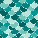 Seamless squama pattern Stock Image
