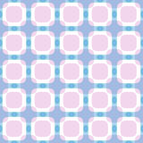 Seamless square abstract geometric pattern Royalty Free Stock Photos