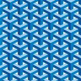 Seamless Escher Pattern Stock Photos