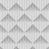 Seamless Square and Line Pattern. Abstract Monochrome Background Royalty Free Stock Image