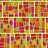 Seamless square pattern Royalty Free Stock Photo