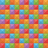 Seamless Square Pattern Stock Images