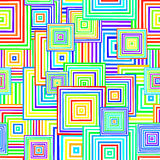 Seamless Square Pattern Stock Photography