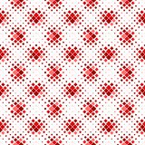 Seamless square pattern background - dark red abstract vector design. Seamless geometrical diagonal square pattern background - dark red vector graphic design royalty free illustration