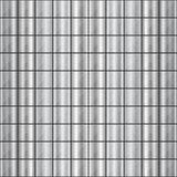 Seamless Square Shaped Steel Studded Pattern royalty free illustration