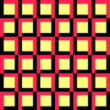 56-13-9. Seamless Square and Stripe Pattern. Vector Regular Texture Royalty Free Stock Image