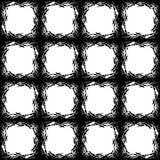 Seamless square texture carpet Royalty Free Stock Photos