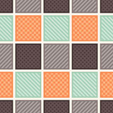 Seamless square textured background Stock Photography