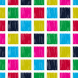 Seamless square tiles pattern Royalty Free Stock Images