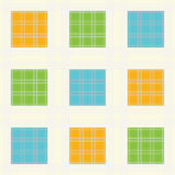 Seamless squares background Stock Image