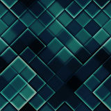 Seamless squares dark Stock Images