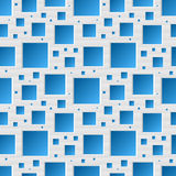 Seamless squares pattern Stock Photos