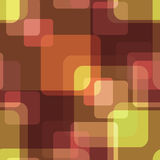 Seamless squares retro bright pattern background geometric abstr Royalty Free Stock Images