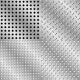 seamless stål för bakgrund Royaltyfria Foton