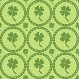 Seamless st. patrick's day pattern Stock Photography