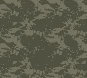 Seamless stained camouflage pattern royalty free illustration