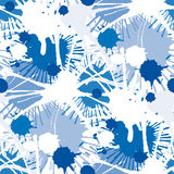 Seamless stains pattern I Stock Photo