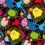 Seamless stains pattern II Stock Image