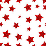 Seamless star background Stock Photography