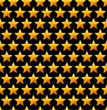 Seamless Star Background. Vector Pattern. Stock Photography