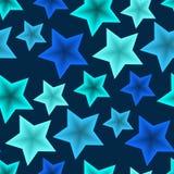 Seamless star pattern Stock Photos