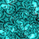 Seamless star pattern Royalty Free Stock Images