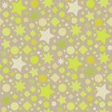 Seamless star pattern Royalty Free Stock Image