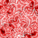 Seamless star pattern Stock Photo