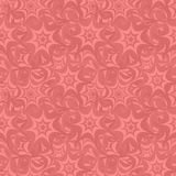 Seamless star pattern background. Coral seamless star pattern background Royalty Free Stock Photography