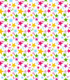 Seamless Star Pattern Royalty Free Stock Photo