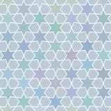 Seamless star pattern backround Stock Image