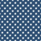 Seamless star pattern blue and white, ready for card,flyer,poster background. Abstact seamless stars blue and white, ready for card, flyer, poster background royalty free illustration