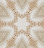 Seamless star pattern brown silver gray Stock Photography