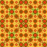 Seamless star pattern Royalty Free Stock Photos