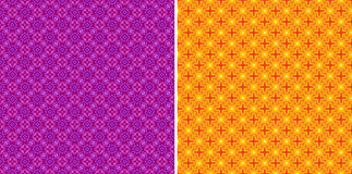 Seamless star pattern Royalty Free Stock Photography