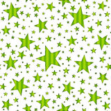 Seamless Star & Stripe Pattern Stock Photography