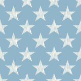 Seamless star symbol background Royalty Free Stock Photo