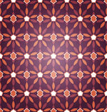 Seamless Starry Pattern Stock Photography