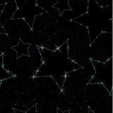 Seamless stars Stock Photos