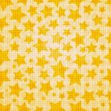 Seamless stars Stock Image