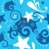 Seamless stars background Royalty Free Stock Photos
