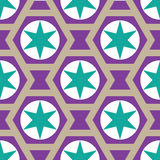 Seamless stars background in vector Royalty Free Stock Photo