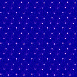 Seamless stars on blue Stock Photo
