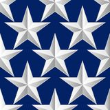 Seamless stars on fabric as background. Vector illustration. Seamless stars on fabric as background. EPS10 vector illustration stock illustration