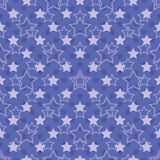 Seamless stars pattern Stock Image