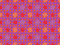 Seamless stars pattern. Abstract seamless color stars pattern Royalty Free Stock Images