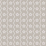 Seamless stars pattern. Pattern stars on a brown background vector illustration
