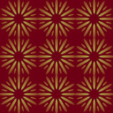 Seamless stars pattern gold brown Stock Photos